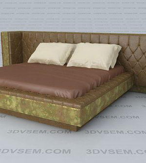 Queen Headboard Double Bed
