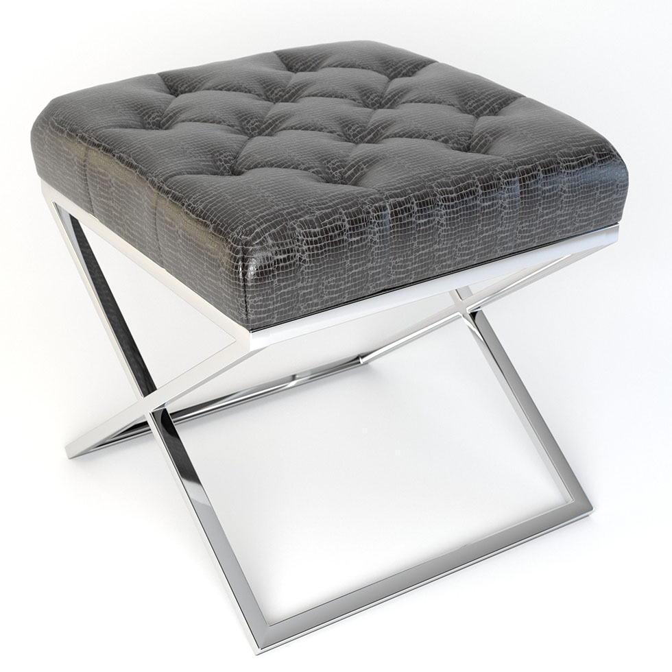 Fine Quilted Pouf Free 3D Model Free C4D Models Short Links Chair Design For Home Short Linksinfo
