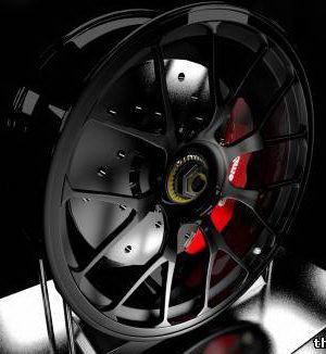 Racing Rims 3d model