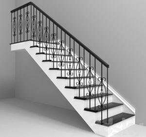 Railing Free 3D Model