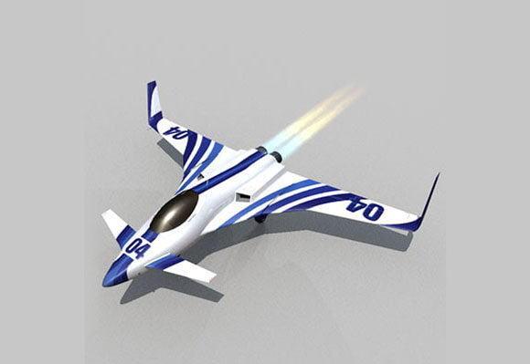 Rc Air Plane 3D Model - C4D Download