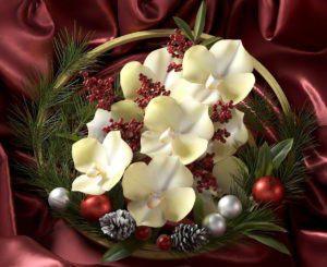 Realistic Christmas Wreath 3D Model