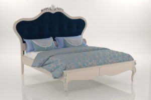 Realistic Double Bed Free 3D Model
