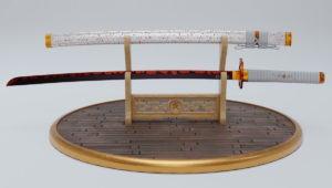 Realistic Katana Swords 3D Model