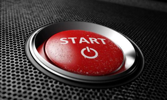 Red Start Button 3D Model