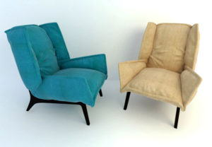 Relax Armchair Free 3D Model