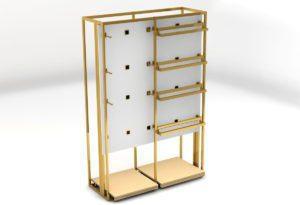 Retail Store Display Rack 3D Model