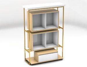 Retail Store Rack 3D Model