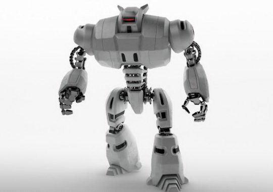 Robot Transformer 3D Model - Free C4D Models