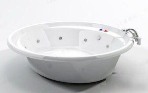 Round Bathtub 3D Model