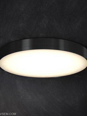 Round Ceiling Luminaire 3D Model