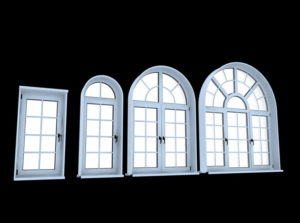 Round Window Free 3D Model