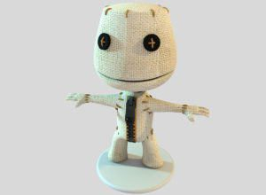 Sackboy Toy 3D Model