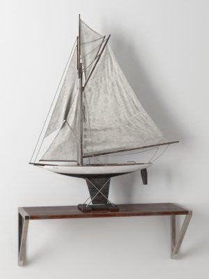 Sailboat Decoration Object 3D Model
