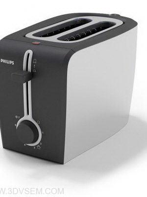 Sandwich Toaster 3D Model