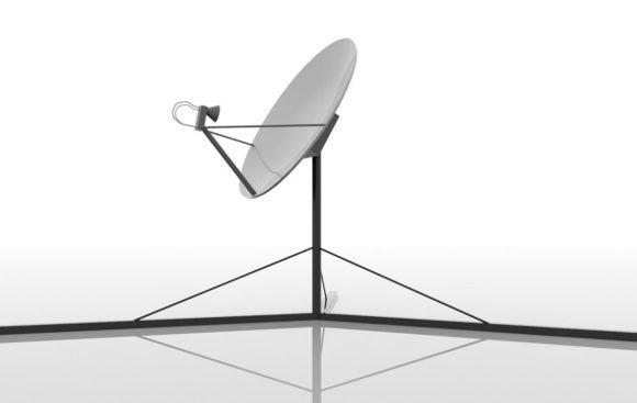 Satellite Dish Free 3D Model