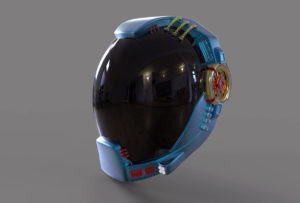 Sci Fi Helmet Free 3D Model