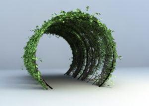 Shade Design Plant Free 3D Model