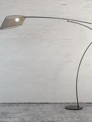 Shiny Floor Lamp 3D Model