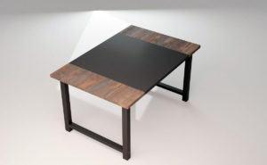 Simple Office Desk 3D Model