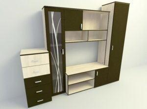 Simple Standart 3D Cabinet