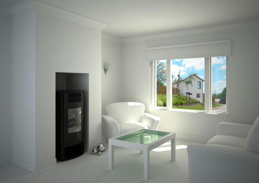 Small Living Room Interior Scene