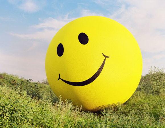 Smiley Ball 3D Model