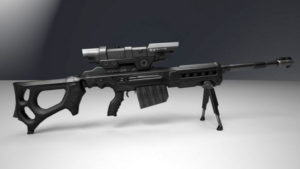 Sniper Rifle Free 3D model