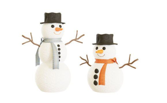Snowman Christmas and New years 3D Model