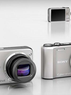 Sony Digital Camera 3D Model