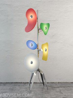 Spectacular Floor Lamp 3D Model