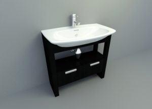 Standart Bath Free 3D Model