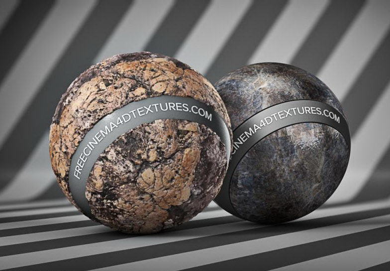 Stone Materials Collection For Cinema 4D