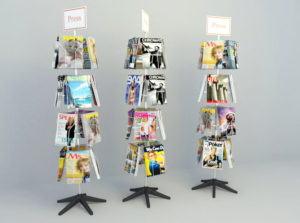 Store Bookshelf 3D Model