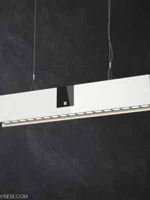 Straight Ceiling Lamp 3D Model