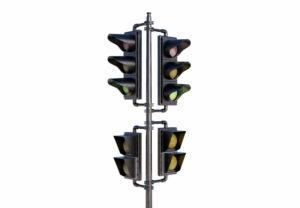 Street Traffic Light 3D Model