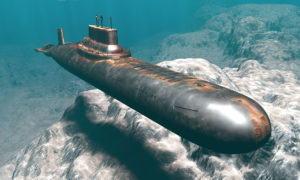 Submarine Free 3D Model