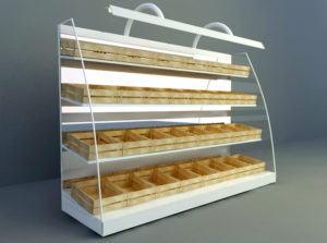 Supermarket Product Display 3D Model