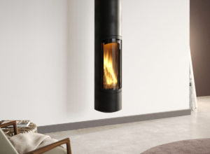 Suspended Fireplace 3D Model