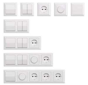 Switches and Sockets 3D Model
