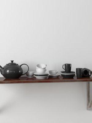 Teapot – cups – Saucer 3D Model