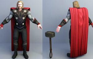 Thor Free 3D Model