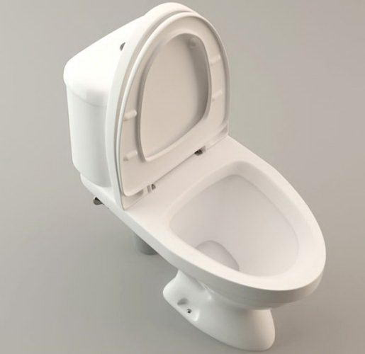 Toilet Lavatory Free 3D Model - Free C4D Models