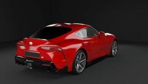 Toyota Supra 2020 3D Model