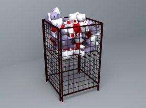 Toys Shelves 3D Model