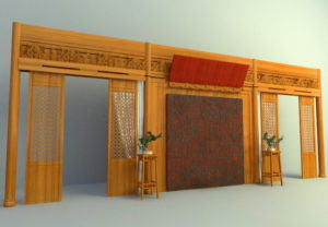 Traditional Wood 3D Wall Panel