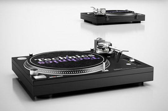 Turntable Music Player 3D Model - Free C4D Models