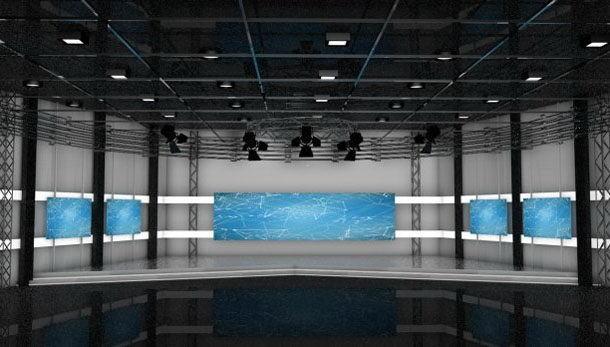Tv Show Studio 3D Model