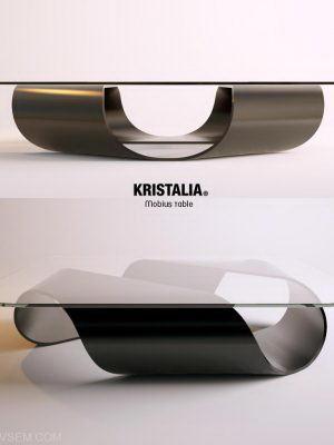 Unique Design Table 3D Model