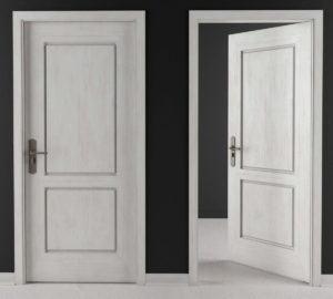 Vintage Wooden Door 3D Model